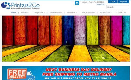 Printers2Go Online Shop